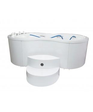 """Ванна водолечебная """"Хаббарда"""" для подводного душ-массажа (1700-1305 л)"""