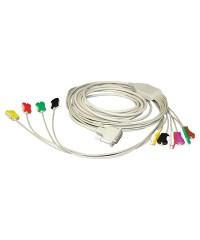 Кабель пациента для ЭКГ Schiller для одноразовых электродов
