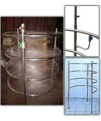 Детский циркулярный душ с дождевым душем ( Модерн или Классика)