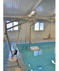 Подъёмник для бассейна (подключение от трансформатора 220/24 В)