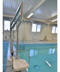 Подъёмник для бассейна (подключение от аккумуляторной батареи)