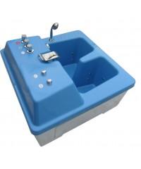 Оснащение жемчужной решеткой ванны Истра-Н