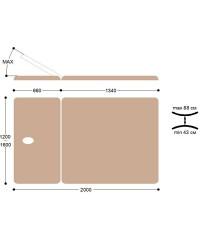 Массажный стол Титулус 2 секции - Стол Войта-Бобата