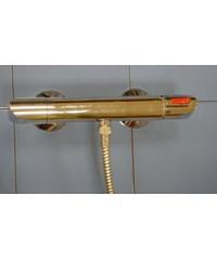 """Термостатический смеситель для восходящего или дождевого душа D 1/2"""" настенный монтаж"""