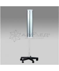 Облучатель-рециркулятор медицинский СH111-130 металлический корпус серебро