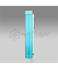 Облучатель-рециркулятор медицинский СH111-115 голубой пластиковый корпус, с таймером