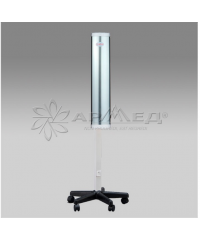 Облучатель-рециркулятор медицинский СH111-115 металлический корпус серебро