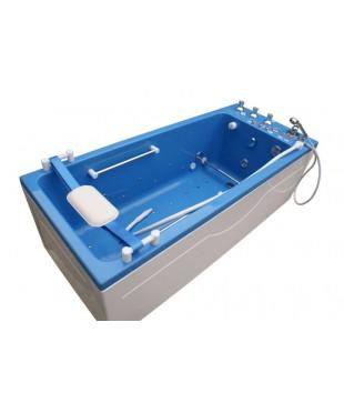 Ванна Okkervil с шлангом для подводного душ-массажа