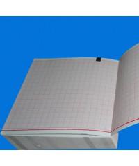 Лента диаграммная из термобумаги складывающаяся 90*90*360 М